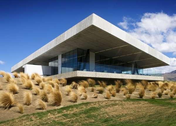 Geometric Golf Clubhouses