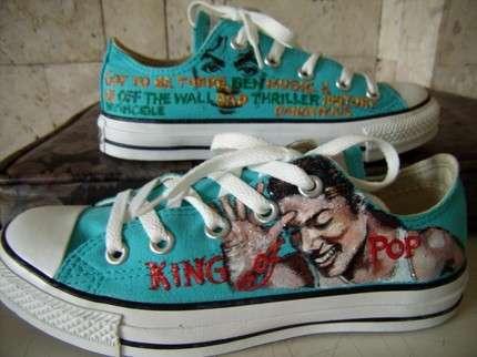 Michael Jackson Converse