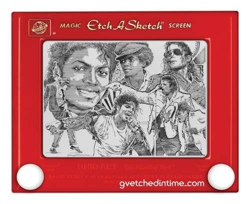 Celebrity Etch-A-Sketch