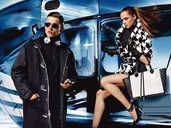 Helipad Fashion Ads