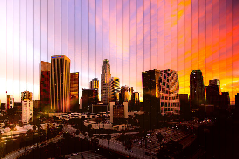 Time-Lapse Skyline Photography