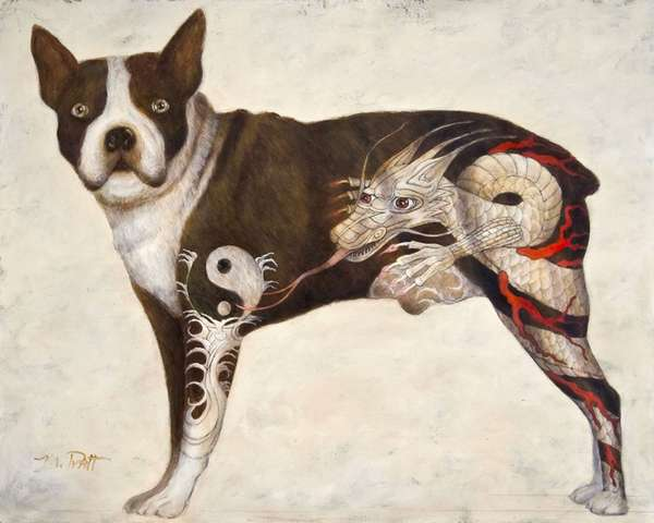 michael pratt animal paintings