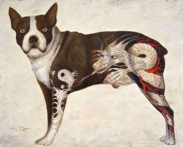 Punky Tattooed Pets