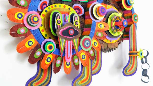Vibrant Tribal Papercraft