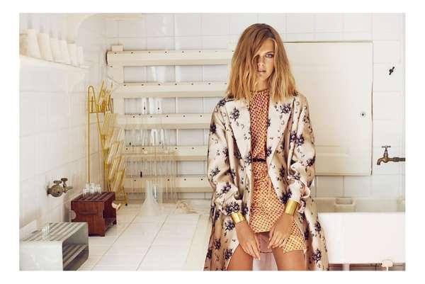 Ruffled Haute Couture Looks