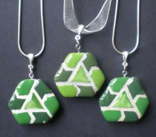 Pieced-Together Pendants