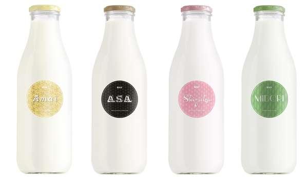 Minimalist Milk Branding