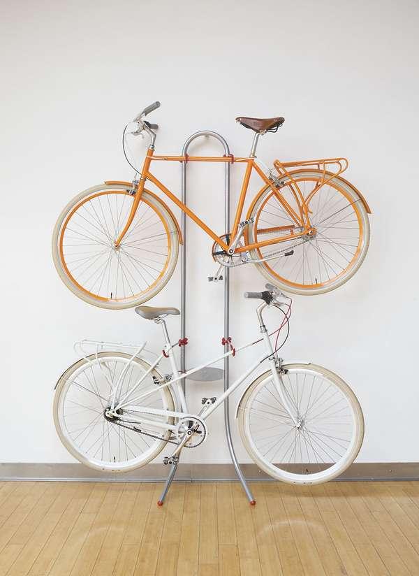 Levitating Bicycle Racks