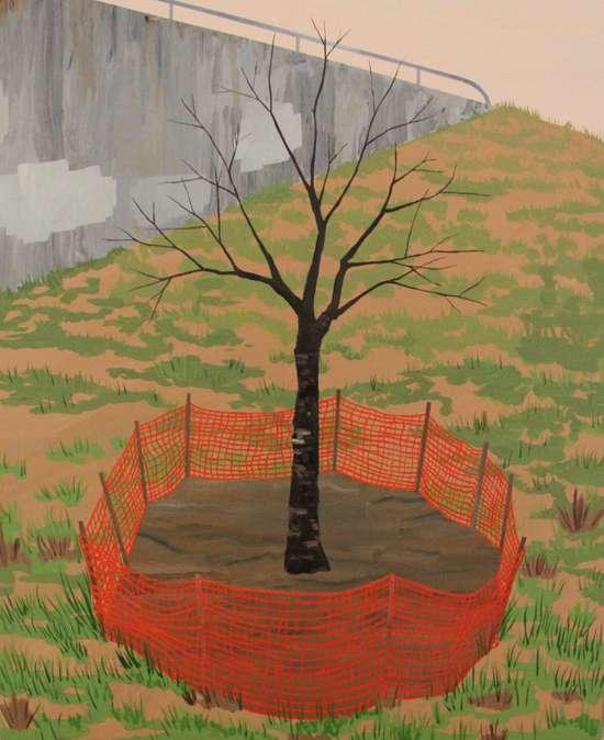Dystopian Nature Paintings