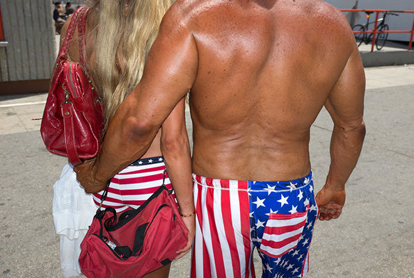 Bizarre Muscle Beach Photography