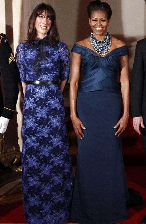 Sapphire First Lady Frocks