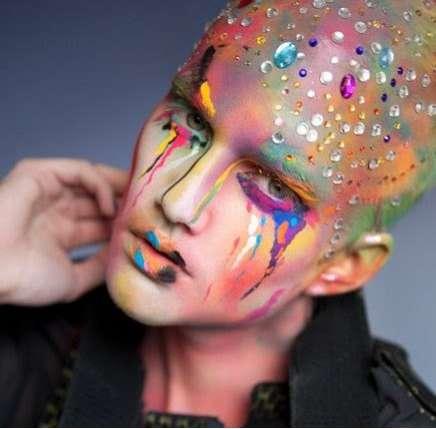 Vibrant Alien Portraits