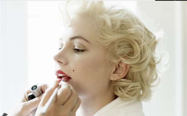 Michelle Williams My Week with Marilyn Photoshoot