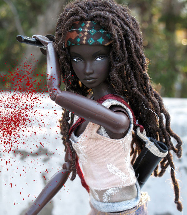 Television-Inspired Warrior Dolls