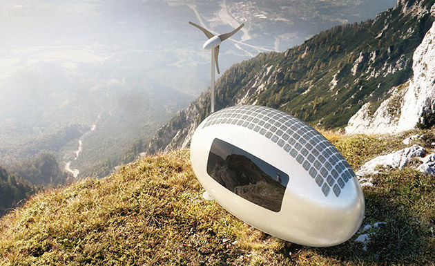 Solar-Powered Micro Homes