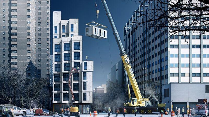 Modular Urban Buildings