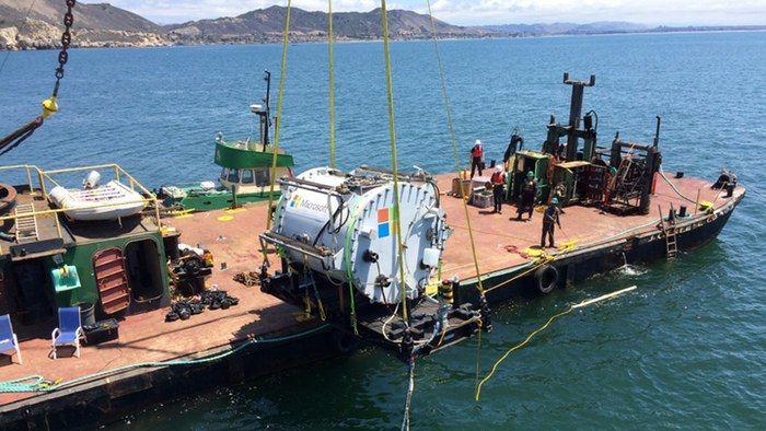 Undersea Data Centers