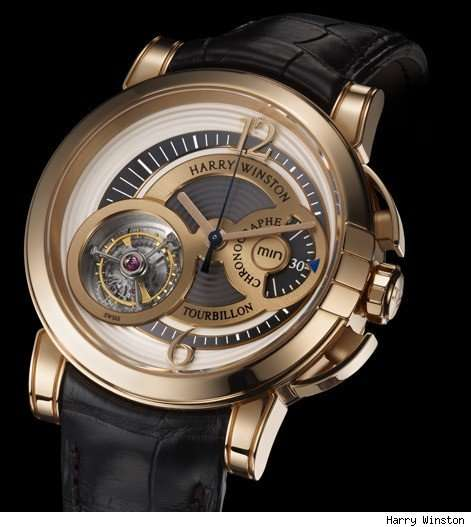 Midnight Chrono Tourbillon Watch