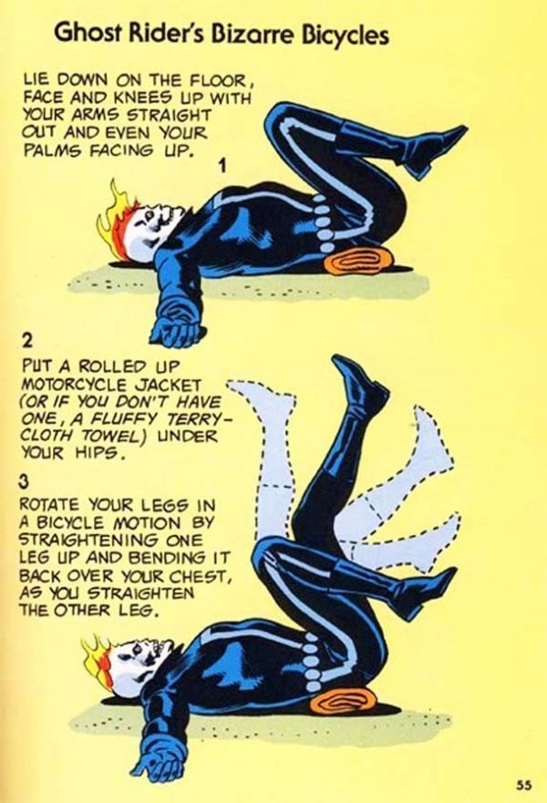 Comic Book Hero Workouts