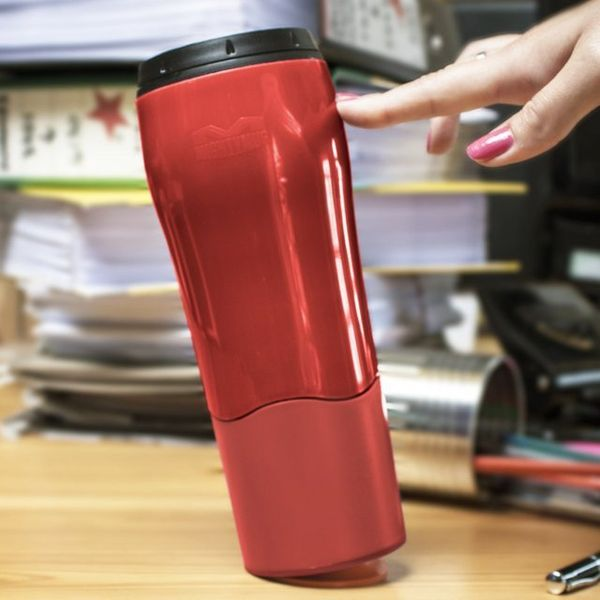 Untoppling Travel Mugs