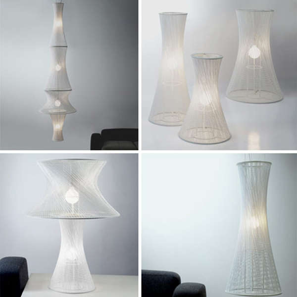 Tied String Lamps