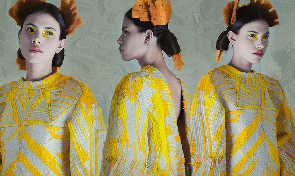 Quilt-Like Paper Garments