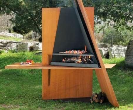 Sculptural Fire Pits