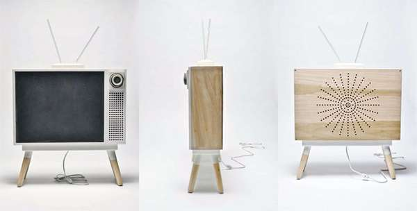 Retro-Inspired Minimalist TVs