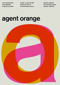 Minimalist Rock Poster Revamps