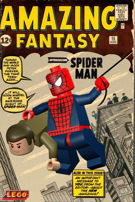 Toy Comic Cover Remakes