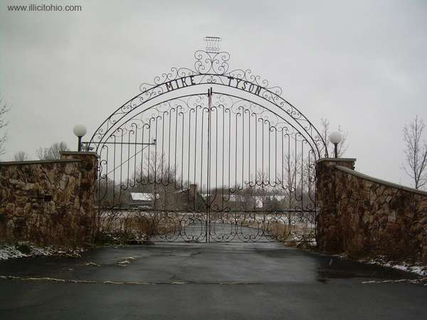 Abandoned Celebrity Mansions Mike Tyson 39 S Old Home