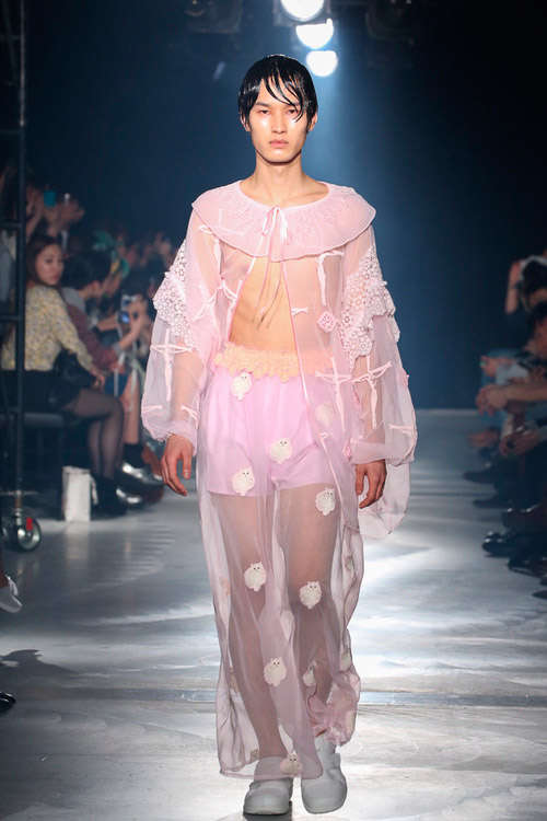 Feminized Nightgown Runways
