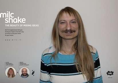 Face-Mashing Ads
