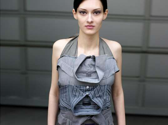 Upcycled Menswear for Women