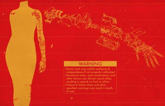Sci-Fi Warning Diagrams