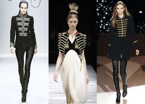 25 War And Military Inspired Fashions