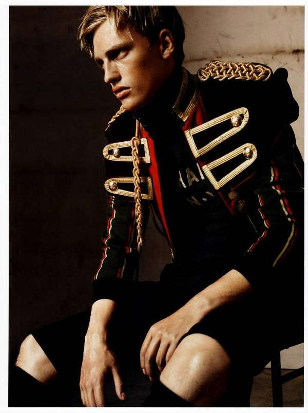 Manly Military Looks