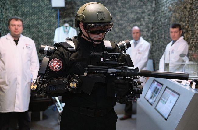 Humanoid Military Robots