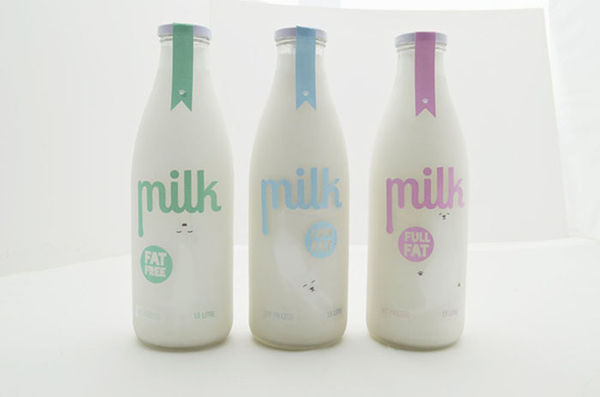 Cat-Focused Milk Packaging
