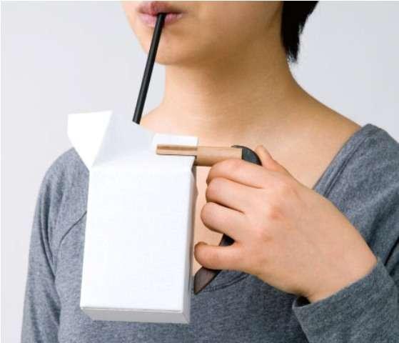 Milk Carton Handles