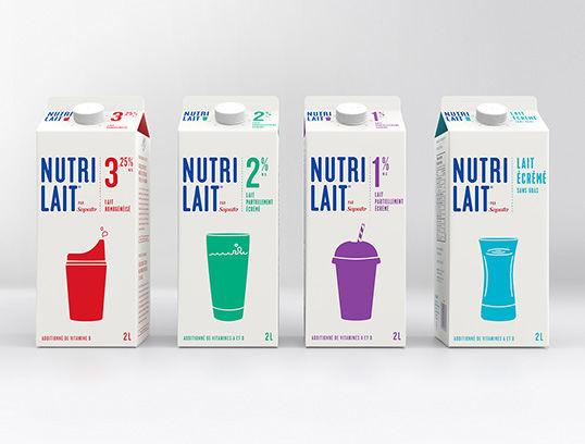 Simple Milk Carton Branding