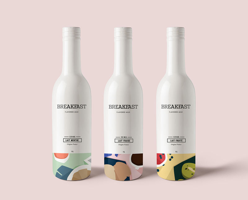 Breakfast-Flavored Milk Concepts