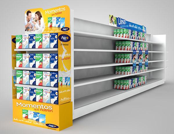 Conceptual Dairy Displays
