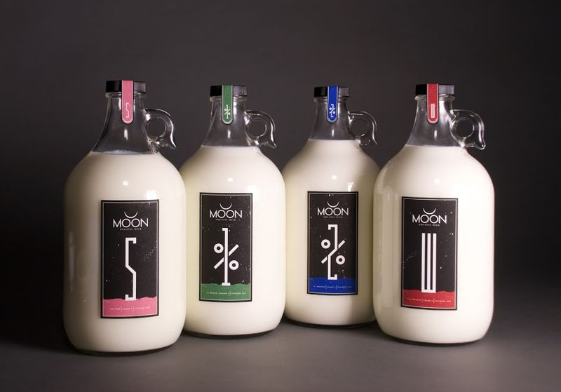 Celestial Milk Jug Designs