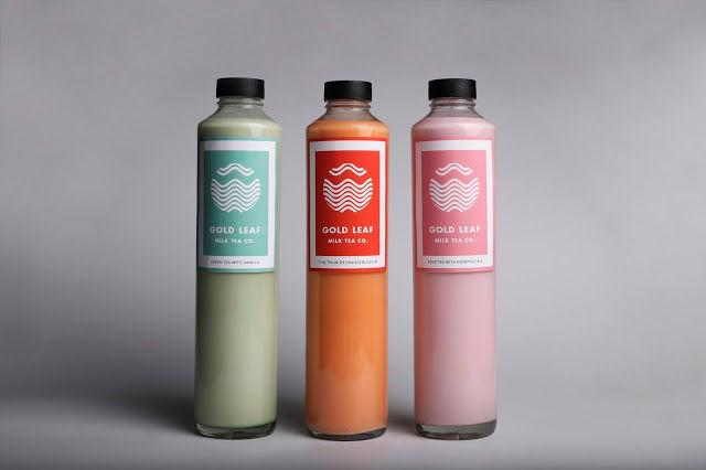 Delicate Milk Tea Branding
