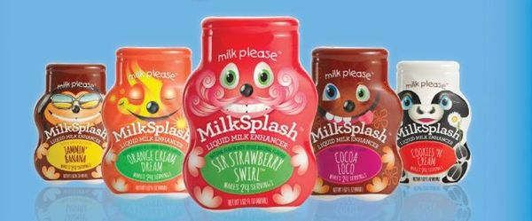 Kid-Friendly Milk Flavoring
