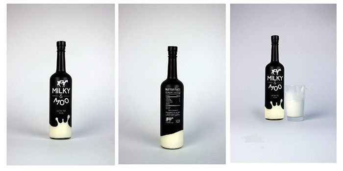Wine Bottle Milk Packaging
