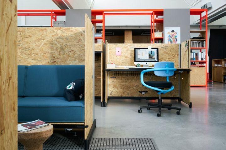 Flexible Desk Systems Millennial Workspace