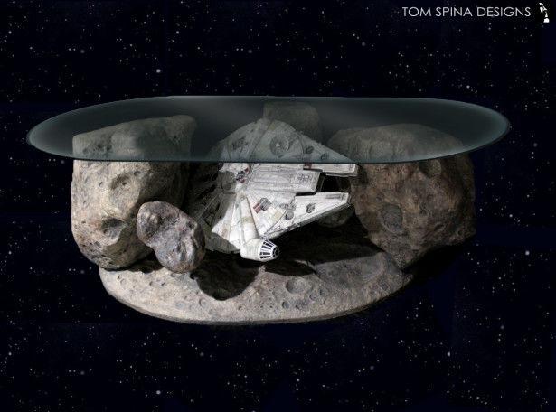 Intergalactic Spacecraft Tables