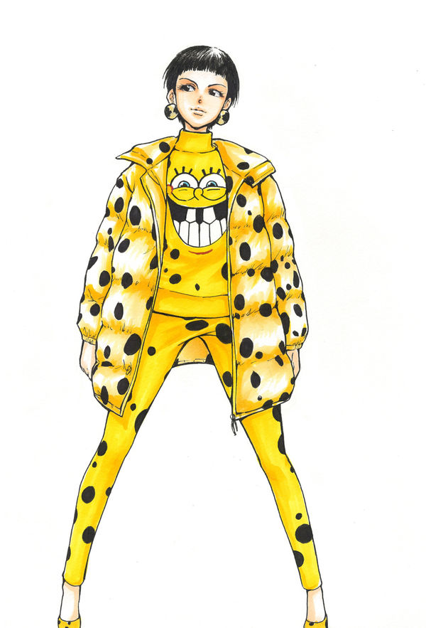 Fashion-Themed Anime Editorials